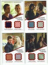 Vampire Diaries Season 2 Dual Wardrobe Costume Relic Card 2012 Selection DM1 - 6