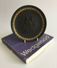 WEDGWOOD Jasperware Black Basalt Mothers Day Collectors Plate 1971