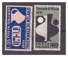 TRIENNALE  DI MILANO  1951 -   SERIE  USATA