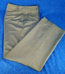 IZOD XFG Women Golf Athletic Pants SIZE 8 Stretch Gray Polyester