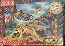 1998 Animorphs 200 Jigsaw Puzzle Complete Hasbro Scholastic MB Milton Bradley