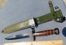 Us Vietnam Era M1 Bayonet (Kiffe?) w/Usm8A1 Scabbard