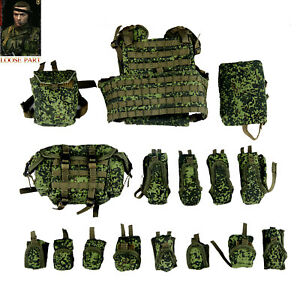 DAMTOYS 78078S 1/6 Armed Forces of the Russian Federation Sniper Vest Pouches