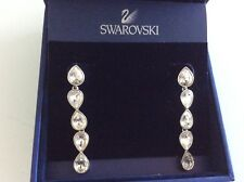 Swarovski earring crystal pierced Talesia, wedding, party,night earrings. $100