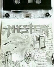MYSTERY HEAVY METAL DEMO TAPE PRIVATE CASSETTE PROG HARD ROCK GLAM INDIE  lp 45