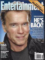 Entertainment Weekly Magazine Arnold Schwarzenegger Game Of Thrones Liz Taylor