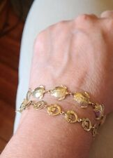Gold Bracelets 14k Solid Yellow Gold Preowned Celtic 10k
