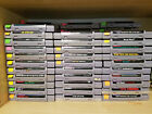 Huge lot of Super Nintendo Snes Games to choose from. Pick your Title. All Work!