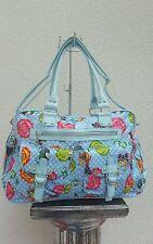 Karierte Damentaschen mit Fächern und Reißverschluss