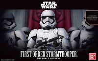 New Star Wars First Order Stormtrooper 1/12 scale plastic model Bandai Japan F/S