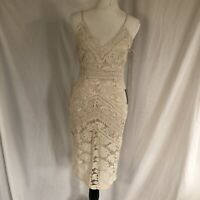 adelyn rae dress Natural Color. Lace Dress Size Small