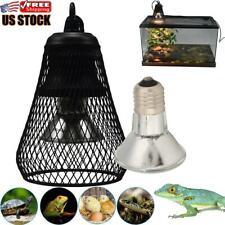 Reptile Uvb Heating Light Holder Heating Light Safety Cage Uvb/Uva Heat Bulb