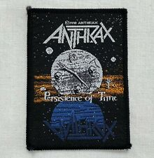 ANTHRAX PERSISTENCE OF TIME 1990 patch