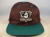 Infant Size NHL Anaheim Mighty Ducks Vintage Hat Cap Drew Pearson