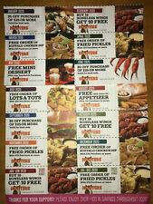 2020 Hooter's Hooters coupons Discount Food Wings Restaurant 100$+