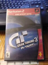 Gran Turismo 3 A- Spec-PS2-Play Station 2 Game, Tested/Works! (A1)
