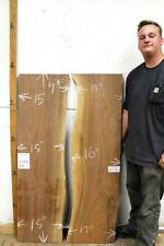 River Table Live Edge Natural Black Walnut Raw Wood Slab Rustic Furniture 6778m1