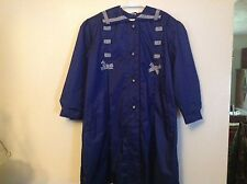 Girls Sailor  Style All Weather Coat SZ 6X Navy & White Preowned Great Shape