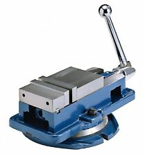 6'' Accu Lock Precision Vise w/ Swivel Base Milling Drilling Machine Bench Clamp