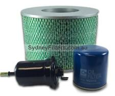 TOYOTA LANDCRUISER 70 SERIES FZJ78, FZJ79 4.5L 1FZ-FE PETROL AIR OIL FILTER KIT