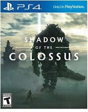 PLAYSTATION 4 PS4 VIDEO GAME SHADOW OF THE COLOSSUS BRAND NEW AND SEALED