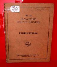 Blanchard No. 11 Grinder Manual (Inv.17904)