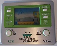 Trojan Horse LCD Card Game Handheld Gakken Game & Watch