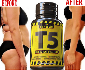 Pure FAT BURNER Weight Loss Boost Metabolism Slimming Supplement 60 Capsules