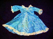 1970'S VINTAGE DOLL DRESS FOR TEEN OR ADULT DOLL!   ADORABLE!   HANDMADE!