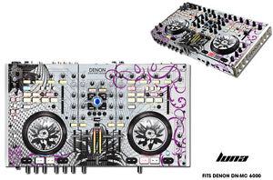 Skin Decal Wrap Denon DN MC 6000 DJ Controller Interface Pro Audio Sticker LUNA
