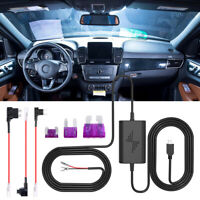 Cam Hard Wire Mini Micro USB DC Charger Converter Kit For Car Dash Camera DVR