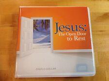 Creflo Dollar-JESUS: The Open Door To Rest- 3-CD Set Brand New