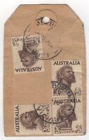1952 Apr 23rd. Parcel Tag. Melbourne.