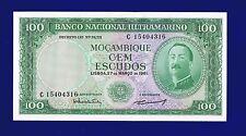 MOZAMBIQUE 100 ESCUDOS 1961  PIC 109B NO OVERPRINT UNC 15404316