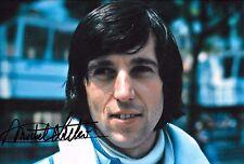 MICHEL LECLERE signed 12x8 f1 Williams Portrait MONACO GRAND PRIX 1976