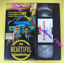 VHS film MY BEAUTIFUL LAUNDRETTE Lavanderia a gettoni PANORAMA(F90*) no dvd