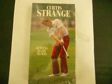 GETTING READY TO WIN CURTIS STRANGE - NEW VHS