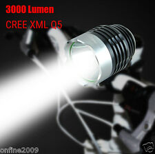 3000Lm CREE XML LED 3Mode Bike Bicycle Light Lamp Waterproof Headlamp Headlight
