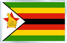 ZIMBABWE FLAG FRIDGE MAGNET SOUVENIR IMAN NEVERA