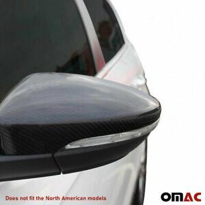 VW Passat 2006-2013 Negro Espejo De Ala Puerta Manual Izquierda del lado del pasajero