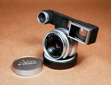 Leica Summicron 35mm f/2 8-Element Version 1 Wide-Angle M3 Rangefinder Lens!