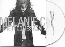 MELANIE C - Here it comes again CD SINGLE 2TR EU Cardsleeve 2003 SPICE GIRLS