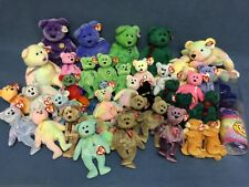 Ty Beanie Baby Pillow Pal Buddy Large Bear Clubby Groovy Lot of (39) W/ Tags!