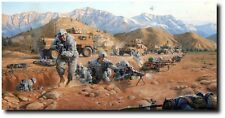 Closing the Distance (P/P) by Larry Selman - 48th (IBCT) in Afghanistan