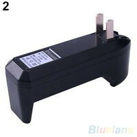 HN- GI- US Plug Universal Charger 18650 16340 14500 Rechargeable for Li-Ion Batt