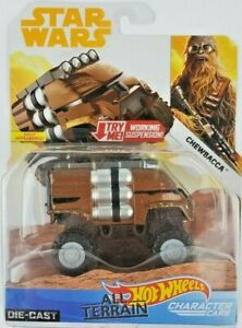 Hot Wheels Star Wars Chewbacca Character Car All Terrain