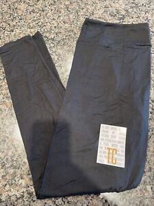 Lularoe TC Solid Black NWT Leggings