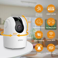 Imou 2MPX Telecamera Wi-Fi Videocamera di Sorveglianza Audio Bidireziona 360°