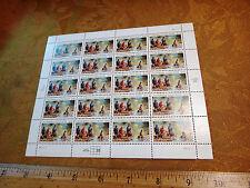 Full Sheet Of 20 1998 California Gold Rush 33c Stamps - Free S&H USA