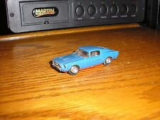 Custom Lindberg 1/64 1960's Ford Mustang Fastback Blue for parts restore
